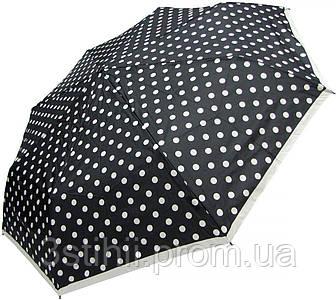 Зонт складной Doppler 7441465BW06 полный автомат Черно-белый