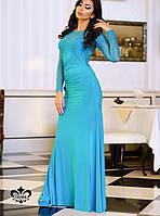 Бирюзовое вечернее платье | Дженифер lzn