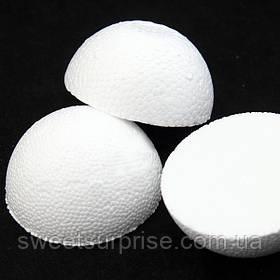 Пенопластовый шар половинка (10 см.)