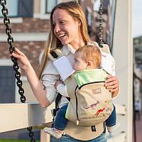 Рюкзаки-переноска, слинг. Эрго рюкзак Love & Carry AIR Сказки Австралии. Хлопок 100%, фото 1