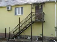 Винтовые лестницы кованые