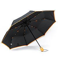 Женский зонтик автомат черный