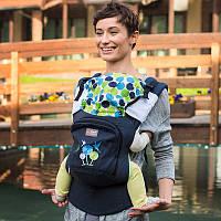 Рюкзак-переноска, слинг. Эрго рюкзак Love & Carry AIR Мелодия весны. Хлопок 100%, фото 1