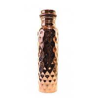 Бутылка медная с закручивающейся крышкой  33892B