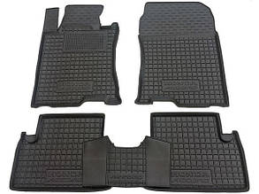 Полиуретановые (автогум) коврики в салон Honda Accord / Хонда Акорд 2008-2013