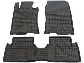 Полиуретановые (автогум) коврики в салон Honda Accord / Хонда Акорд 2013+
