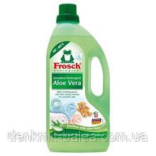 Гель Фрош для стирки Алое Вера Frosch Aloe Vera Sensitiv Detergent  1500 мл