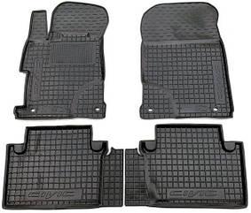 Полиуретановые (автогум) коврики в салон Honda Civic / Хонда Цивик  2011- Sedan / Седан