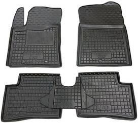Поліуретанові (автогум) килимки в салон Hyundai i10 / Хюндай ( І10 2014+ )
