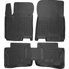 Поліуретанові (автогум) килимки в салон Hyundai i20 / Хюндай (i20 ) 2016+