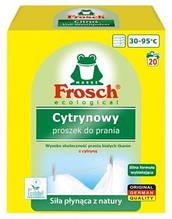 Порошок Фрош Цитрус для стирки с отбеливателем  Frosch Cytrynowy 1.35 кг