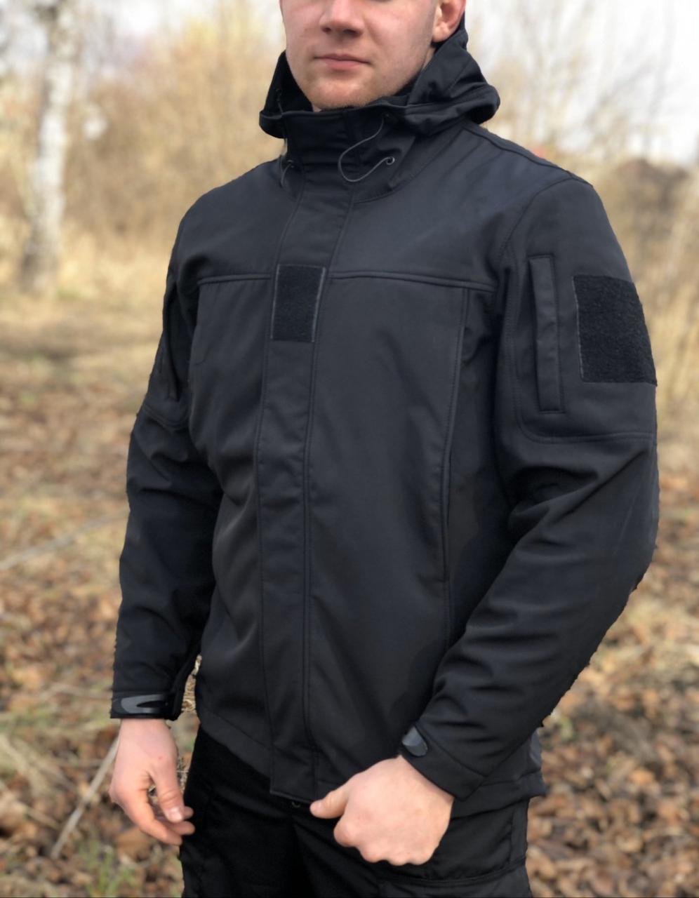 Куртка Military Soft Shell Black