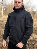 Куртка Military Soft Shell Black, фото 5