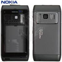 Корпус для Nokia N8-00, черный, оригинал