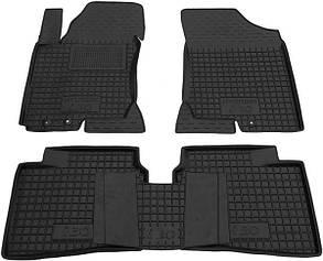 Поліуретанові (автогум) килимки в салон Hyundai i30 / Hyundai / Хендай / Хундай ( І30) - 2007-2012