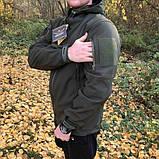 ТАКТИЧНА КУРТКА Soft Shell Military Олива, фото 2