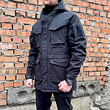 """ПАРКА SOFT SHELL """"UKR-TEC"""" ЧЁРНАЯ, фото 3"""