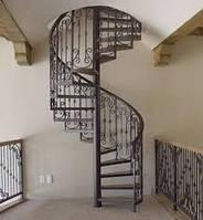 Кованые элементы для лестницы