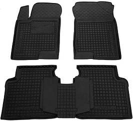 Поліуретанові (автогум) килимки в салон Hyundai Sonata / Хюндай Соната NF/6 2005-