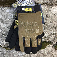 MECHANIX M-PACT COVERT GLOVES COYOTE Репліка