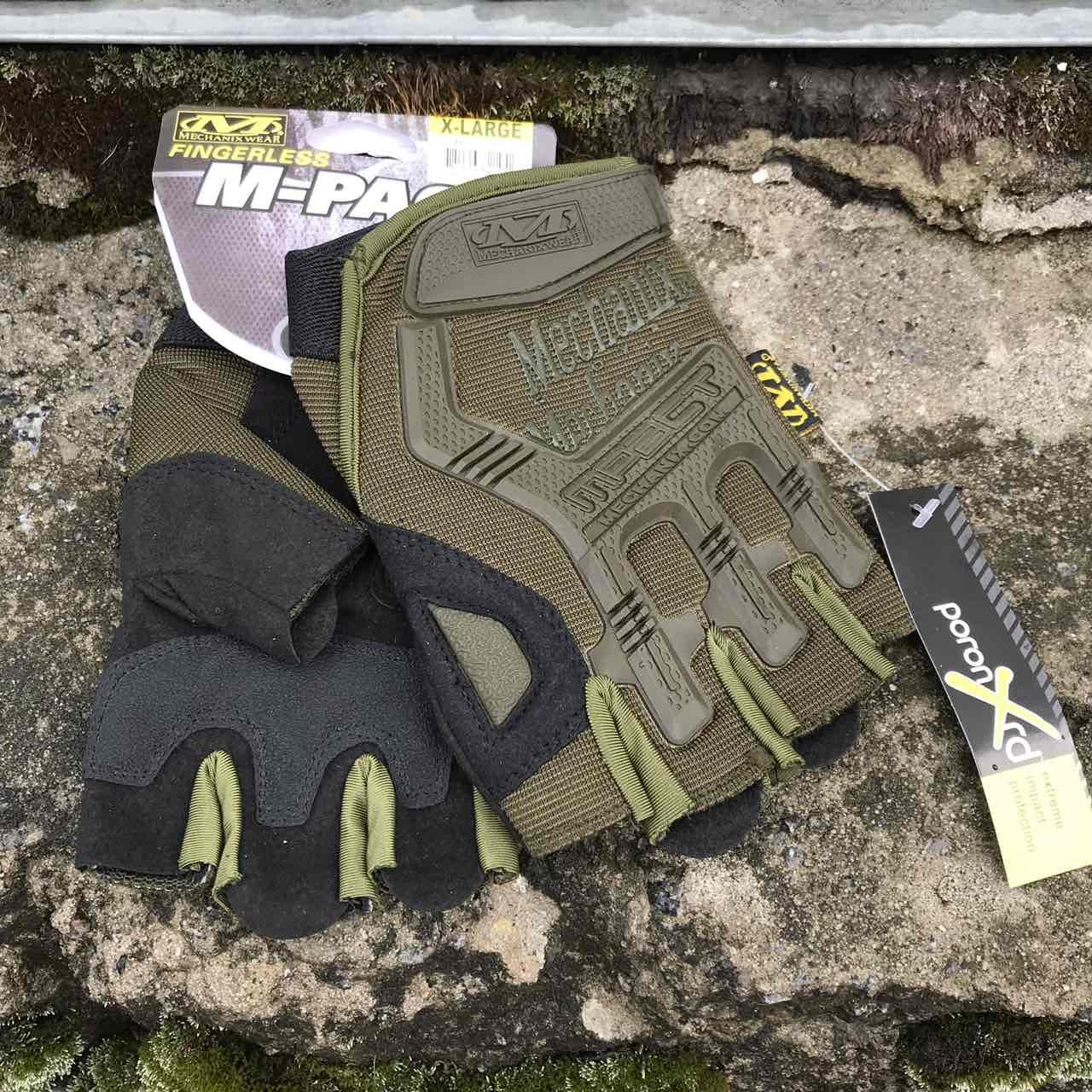 Перчатки тактические Mechanix M-Pact Fingerless Glove Olive