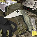 Перчатки тактические Mechanix M-Pact Fingerless Glove Olive, фото 2