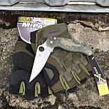 Перчатки тактические Mechanix M-Pact Fingerless Glove Olive, фото 3