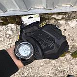 Тактичні рукавички Mechanix M-Pact Fingerless Glove Black, фото 2