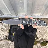 Тактические перчатки Mechanix M-Pact Fingerless Glove Black, фото 5