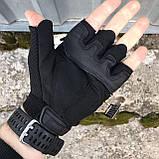 Тактичні рукавички Mechanix M-Pact Fingerless Glove Black, фото 6