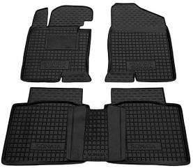 Поліуретанові (автогум) килимки в салон Hyundai Sonata / Hyundai Sonata YF/7 2010+