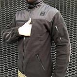 КОФТА ФЛІСОВА ВІЙСЬКОВА COMANDER-I BLACK MAN, фото 4