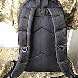 Рюкзак тактический чёрный на 40л, фото 2