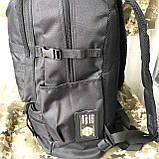 Рюкзак тактический чёрный на 40л, фото 3