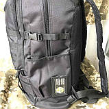 Рюкзак тактичний чорний на 40л, фото 3