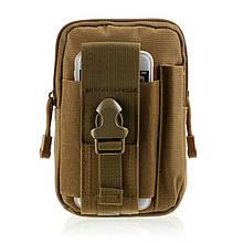 Органайзер edc сумка - колір койот