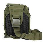 Тактична сумка через плече EDC Olive, фото 5