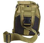 Тактична сумка через плече EDC Coyote, фото 2