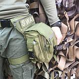 Сумка набедренная SWAT OLIVE, фото 2