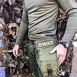 Сумка набедренная SWAT OLIVE, фото 3