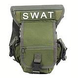 Сумка набедренная SWAT OLIVE, фото 4