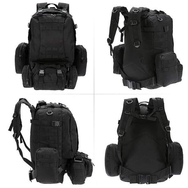 Рюкзак Molle System 55 L. Black