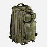 Рюкзак тактический Molle System 25 L. Olive, фото 3