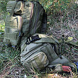Рюкзак тактический Molle System 25 L. Olive, фото 5