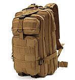 Рюкзак тактичний Molle System 35 L. Coyote, фото 2