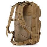Рюкзак тактичний Molle System 35 L. Coyote, фото 3