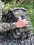 РЮКЗАК ТАКТИЧНИЙ ARMY UA Піксель ЗСУ 40л., фото 2