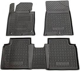 Полиуретановые (автогум) коврики в салон Hyundai Sonata / Хюндай Соната LF/8 2014+