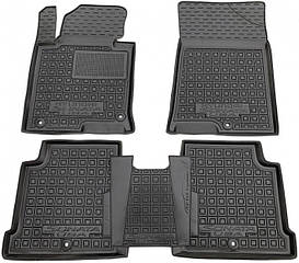 Поліуретанові (автогум) килимки в салон Hyundai Sonata / Хюндай - Соната LF/8 2014+