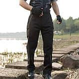 Тактичні штани Soft Shel ESDY Pro-1 BLACK, фото 2
